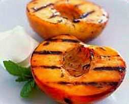 Grilled-to-Perfection_Champagne Peaches with Marscapone