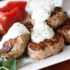 Greek Turkey Meatballs (via www.foodily.com/r/y4LTvNml2-greek-turkey ...