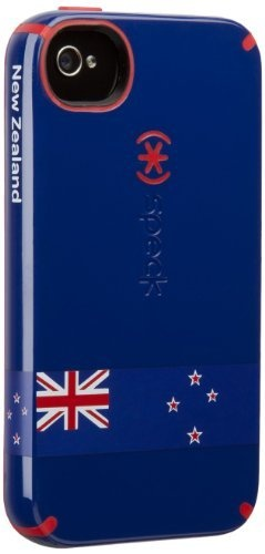 I bought this today online: a Speck CandyShell iPhone 4S case with the flag of New Zealand.