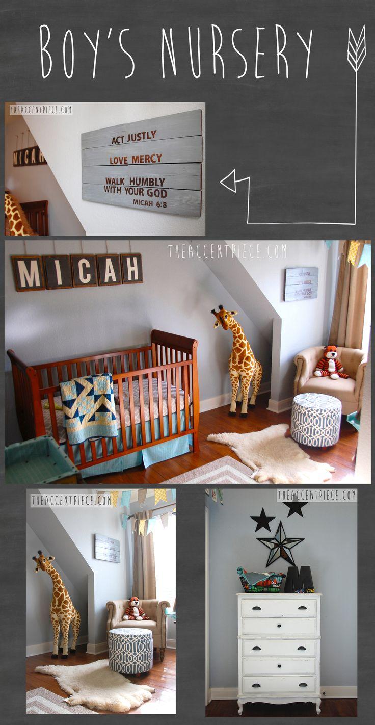 Simple boy nursery : Vintage boy nursery