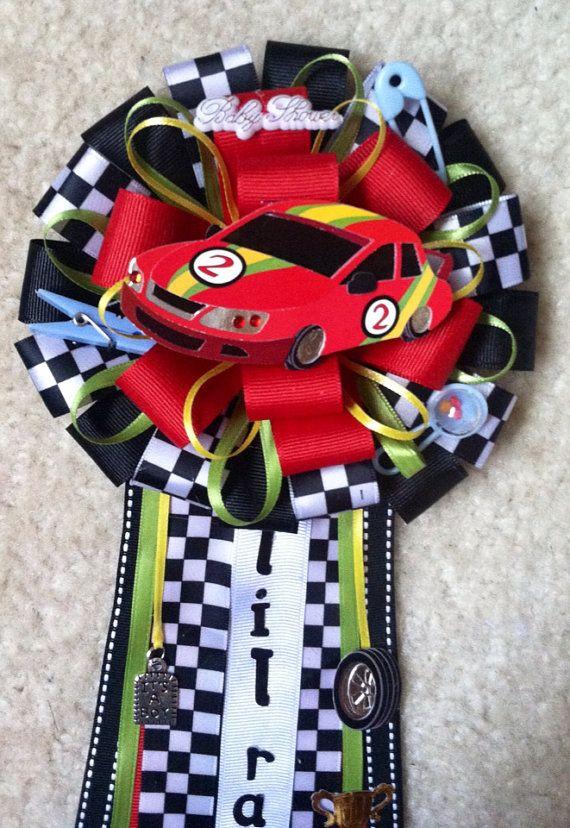 race car baby shower mum on etsy