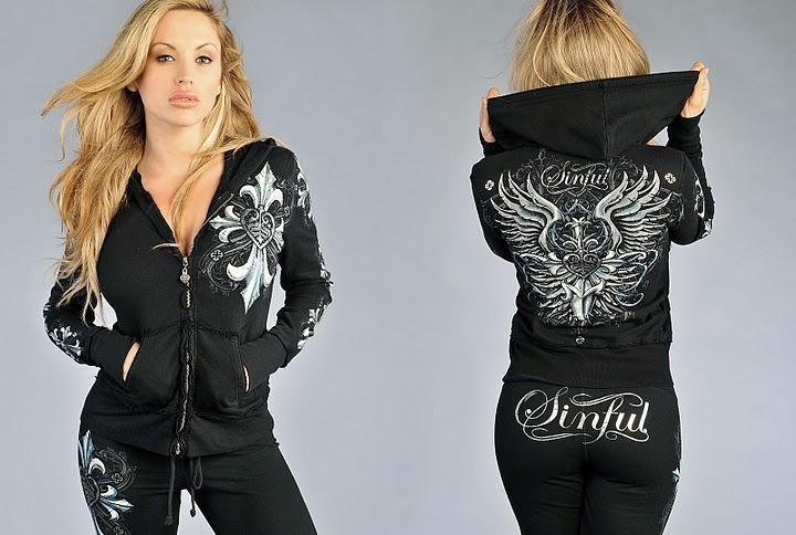 Hoodie by Sinful | i want this | Pinterest