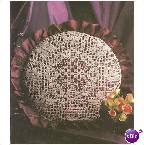 Crochet Patterns Nz : Crochet Pillow Pattern Coziness on eBid New Zealand