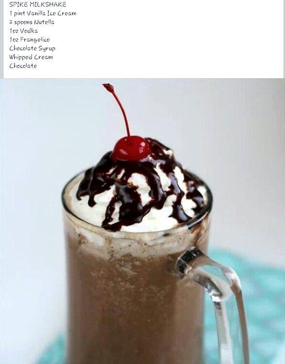 spiked milkshake | Good good | Pinterest