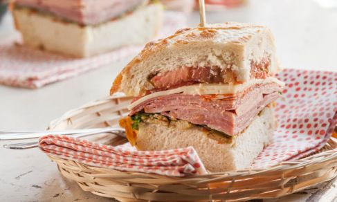 Muffaletta Sandwich | Recipe