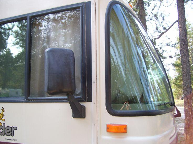 Rv windshield curtains