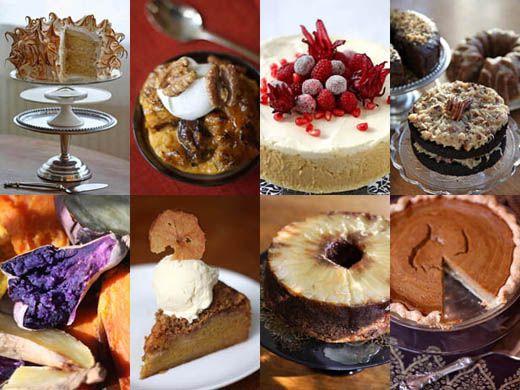 Thanksgiving Desserts Recipes Pinterest