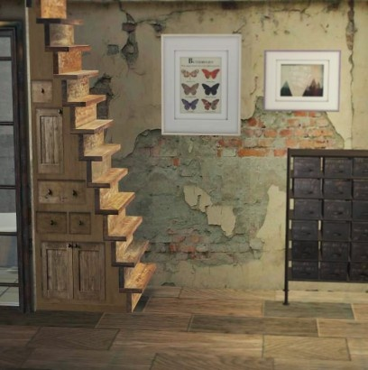 Loft stairs   Tiny home   Pinterest