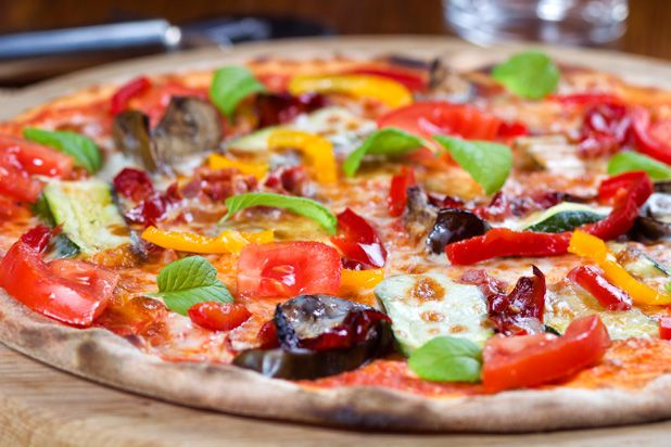 Grilled Vegetable Pizza | Main Dishes | Pinterest