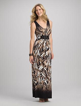 Petite jeweled maxi dress dressbarn fashion pinterest