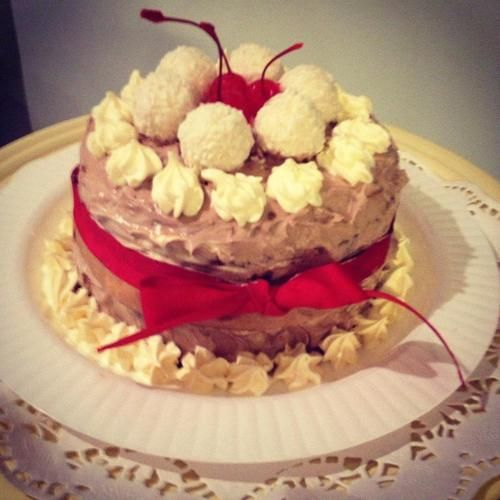 Coconut moon pie chocolate cake. | Stuff I bake | Pinterest