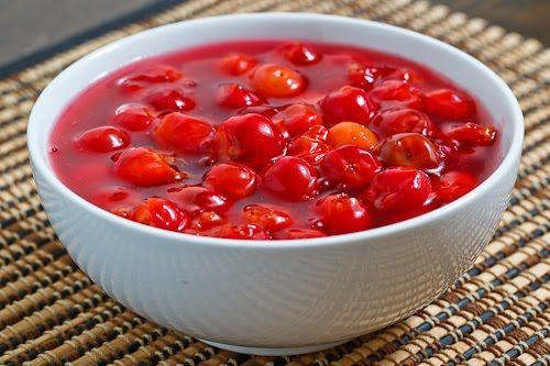 Sour Cherry Compote | Recipe