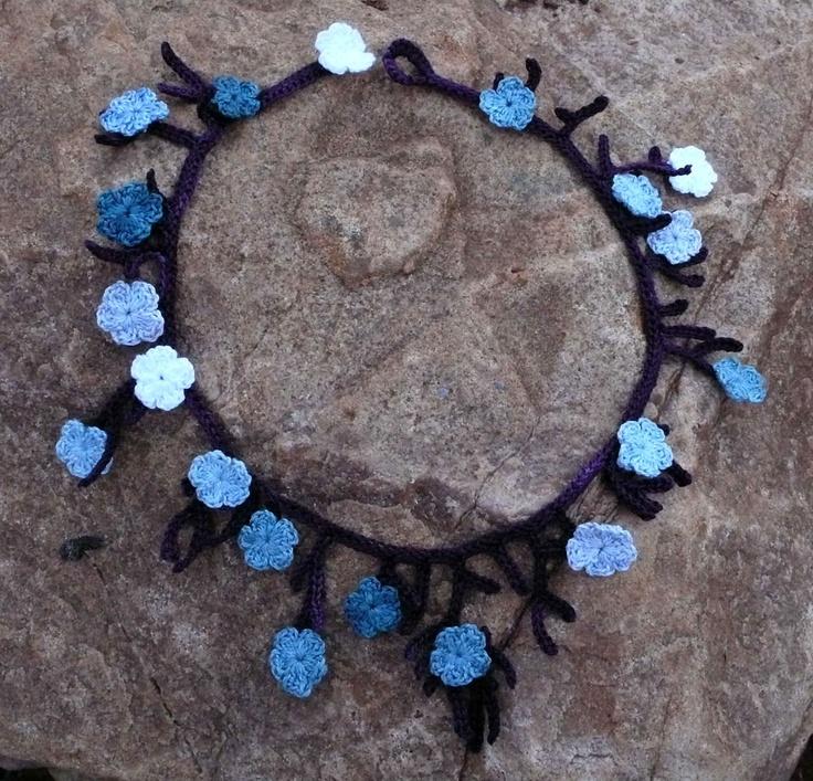 Crochet jewelry Crochet & Knit Jewelry & Hair Accessories Pintere...