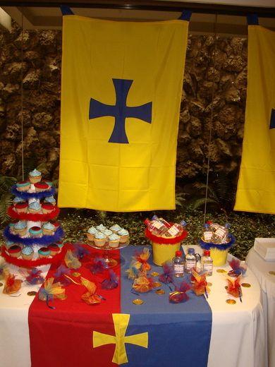 King arthur 39 s knights birthday party ideas - King arthur s round table found ...