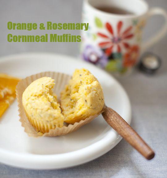 Orange & Rosemary Cornmeal Muffins | Cracktastic Food & Drinks | Pint...