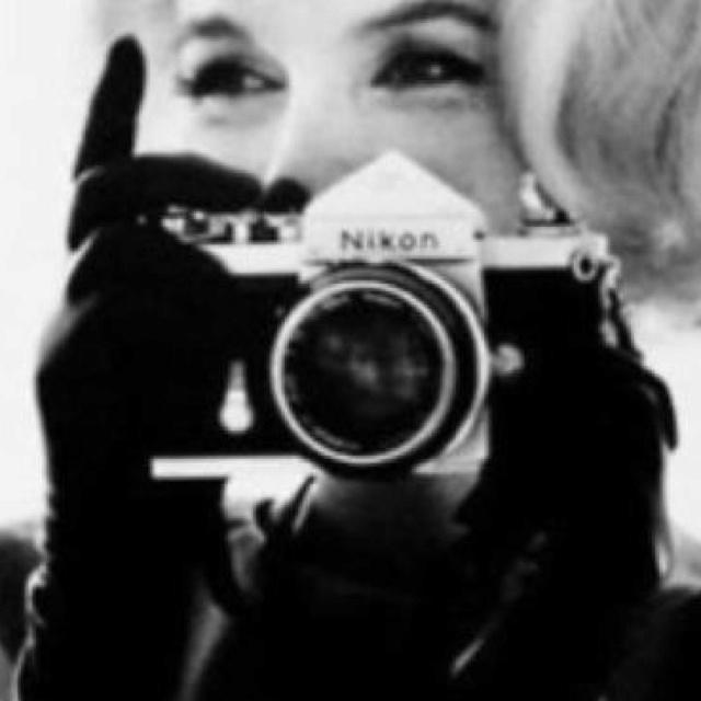 Marilyn Monroe em preto e branco