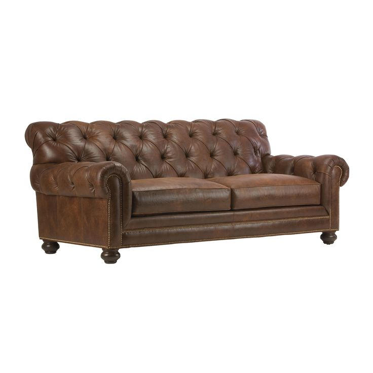 Chadwick Leather Sofas Ethan Allen Us For The Home Living Room