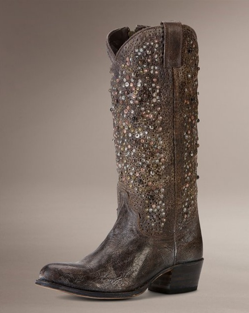 Creative Lane Womens QuotSunshinequot Round Toe Tall Cowboy Boots