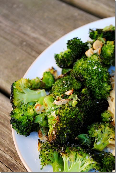 Roasted broccoli | Yummy Treats to Make | Pinterest