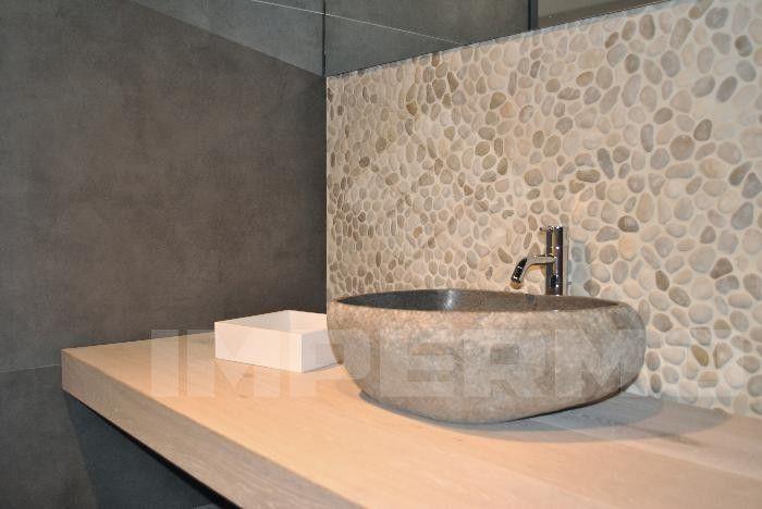 Badkamer Tegels Keien  Keien tegel Huis Pinterest