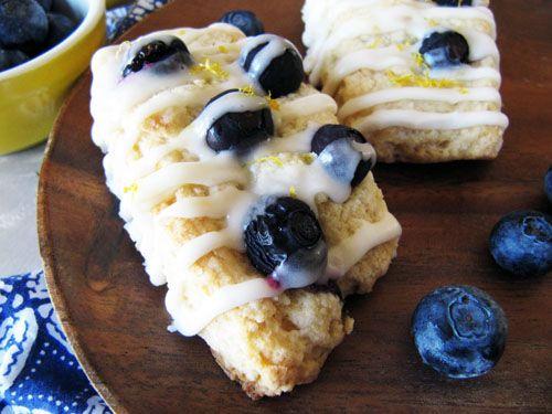 Meyer Lemon & Blueberry Scones | Yummy Recipes | Pinterest