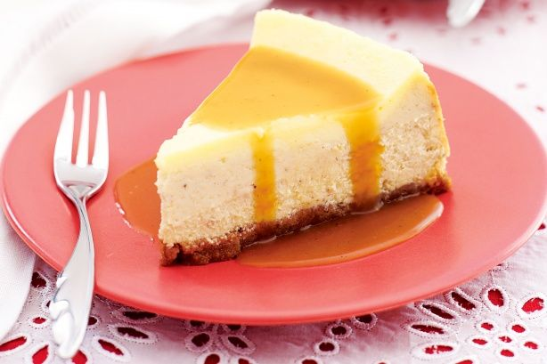 Eggnog cheesecake with rum sauce | cheesecakes | Pinterest