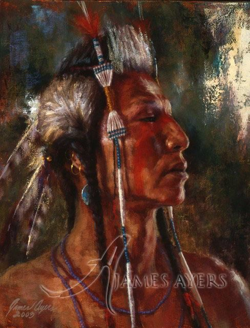 Pin by cyndy lou hancock on people native indian pinterest for Mural on indian red ground