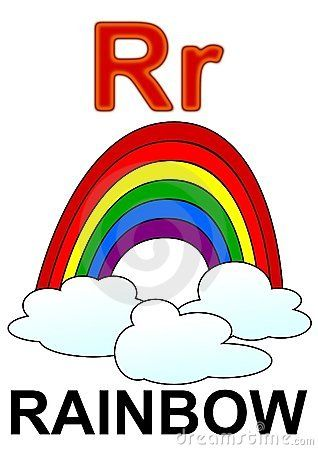 R Is For Rainbow Pin by Nikki Goethals ...