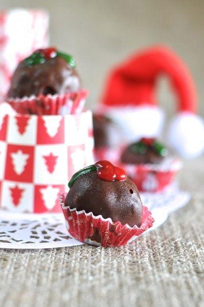 Gingerbread truffles | Truffles / Balls | Pinterest