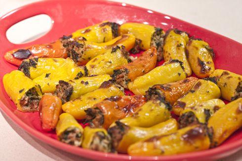 Sausage & Kale Stuffed Mini Paleo Peppers » Sandia CrossFit