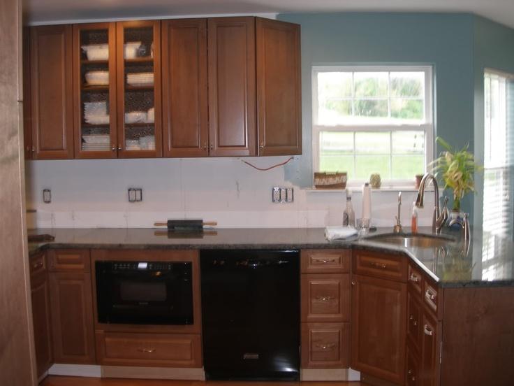 Angled Kitchen Sink : Corner angled sink. Kitchen of the Future Pinterest