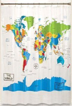 What Color Curtains Go With Yellow Walls World Map Shower Curtai