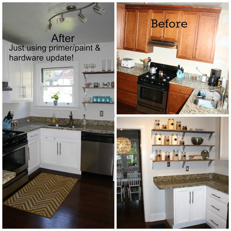kitchen redo it 39 s a very easy and inexpensive way to update a dark