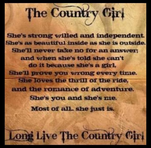 Quotes About Country Girls Country Girl Qu...