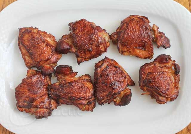 Tea Smoked Chicken in a Wok Recipe