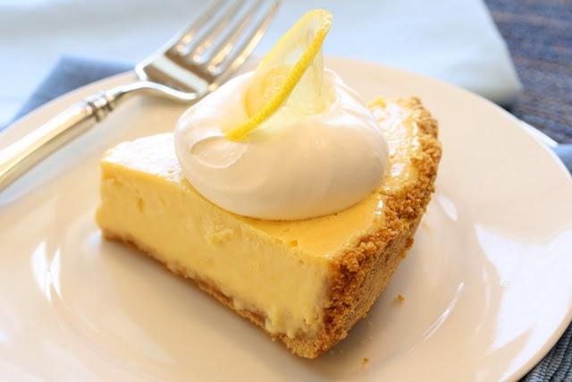 Lemon Ice Box Pie | SWEETS | Pinterest