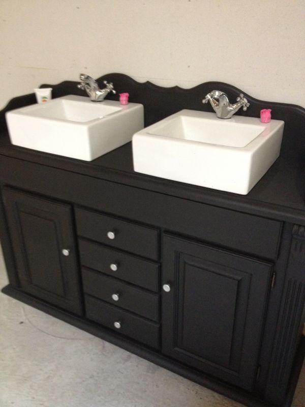 Ikea Badkamer Onderdelen ~ Landelijk badkamermeubel  Bathroom  Pinterest