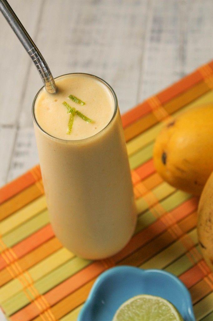 Mango Lime Kombucha Smoothie/Ice Cream | Recipe