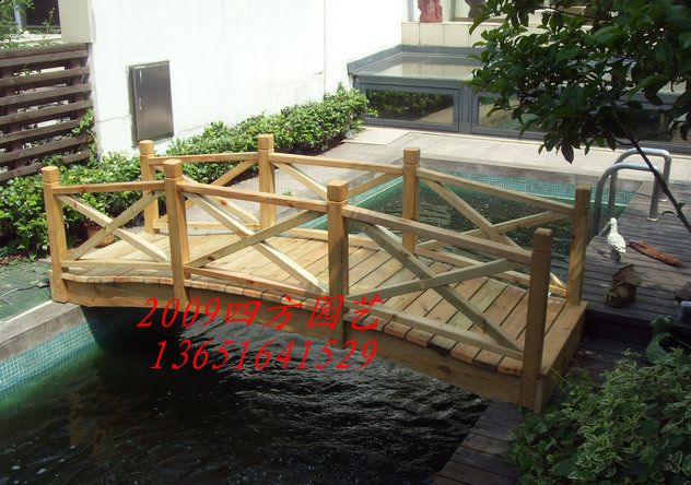 Small Wooden Bridges For Gardens Outside This New Old