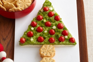 Guacamole Holiday Tree | Christmas | Pinterest