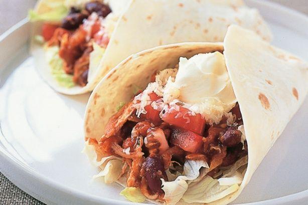 ... their own! http://www.chickenita.com/chicken-recipes/chicken-burritos