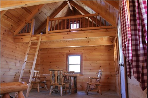 Pictures of log cabin with loft interiors for 20x40 cabin