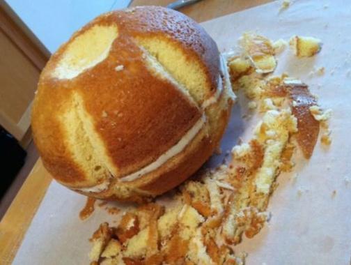 Baking A 3D Pumpkin Cake | Brit + Co.