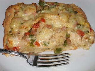 Spicy Chicken and Pepper Jack Pizza   Bonz Blogz   Pinterest
