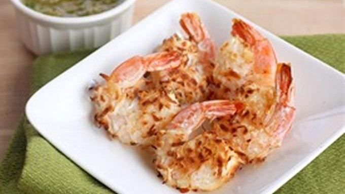 This Baked Coconut Shrimp with Pineapple Dipping Sauce recipe will ...