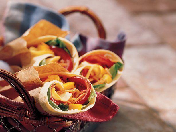 Garden Vegetable Wraps | Recipe