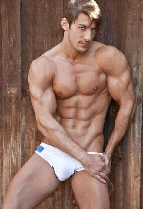 Perfect male body naked join