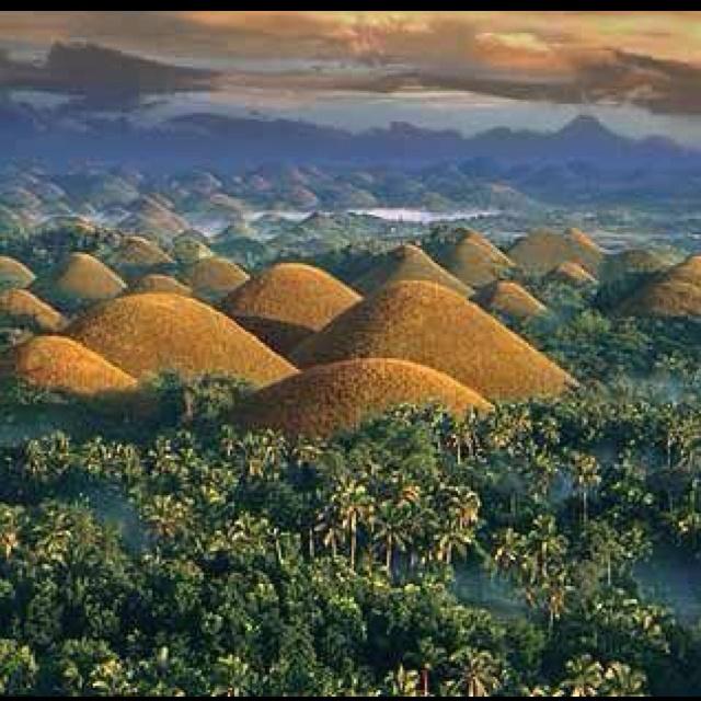 Chocolate Hills Bohol Philippines Travel Destinations