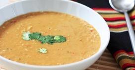 Spiced Coconut Lentil Soup Recipe   Food :)   Pinterest