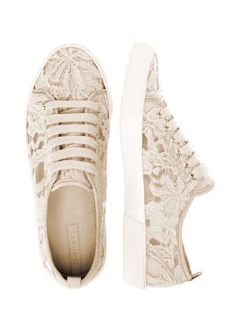 stradivarius lace tennis shoes shoes